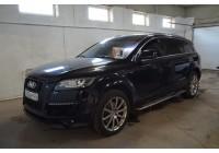 Установка автосигнализации на Audi Q7