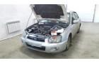 Установка автосигнализации StarLine A93 на автомобиль Subaru Impreza.