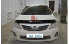 Сигнализация с автозапуском на Toyota Corolla 2012 года.