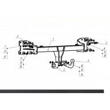 ТСУ Imiola для Volkswagen Touareg (2018 - н.в.), W.051