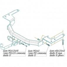 ТСУ для Toyota Highlander (2000-2007), 3041