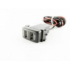 USB разъем в штатную заглушку для Nissan с зарядным устройством