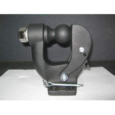 Универсальный фаркоп (ТСУ) крюк + шар, чёрный.