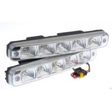 Дневные ходовые огни (DRL) AVS DL-5 (5W, 5 светодиодов х 2шт)