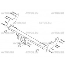 ТСУ AvtoS для Toyota Hilux (2015- н.в.), TY 40