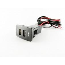 USB разъем в штатную заглушку для Honda с зарядным устройством
