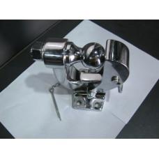 Универсальный фаркоп (ТСУ) крюк + шар, хром.