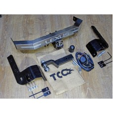 ТСУ TCC для Lexus LX570/LX450d (2007-/2015-н.в.) с нерж.наклад. быстросъем. шар под квадрат 2